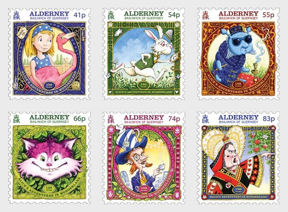 Alice's Adventures in Wonderland - Set