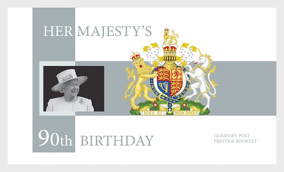 Her Majesty The Queen's 90th Birthday - Stamp Booklet