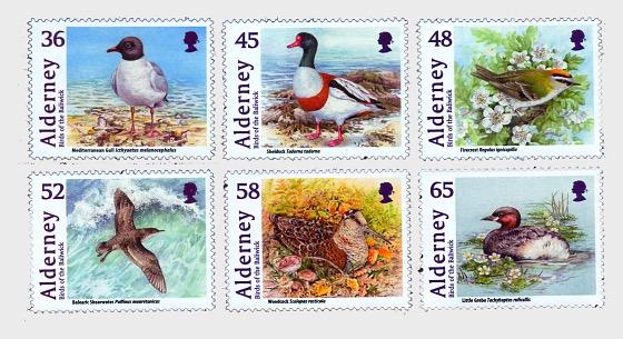 Alderney Bailiwick Birds - Set