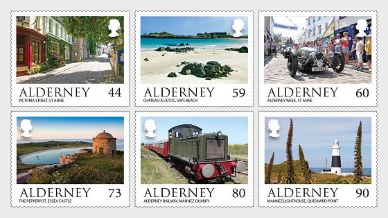 Alderney Scenes - Set