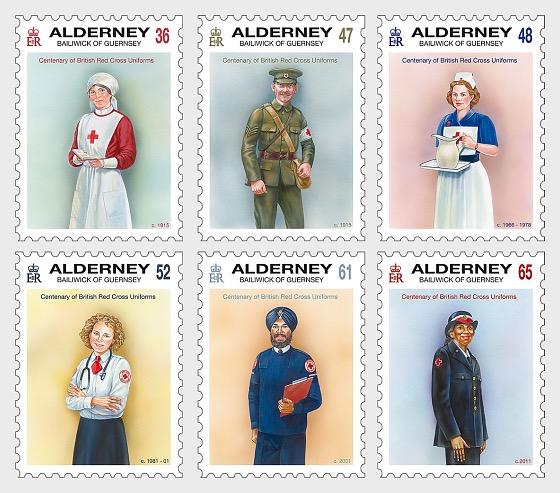 British Red Cross Uniforms - Set