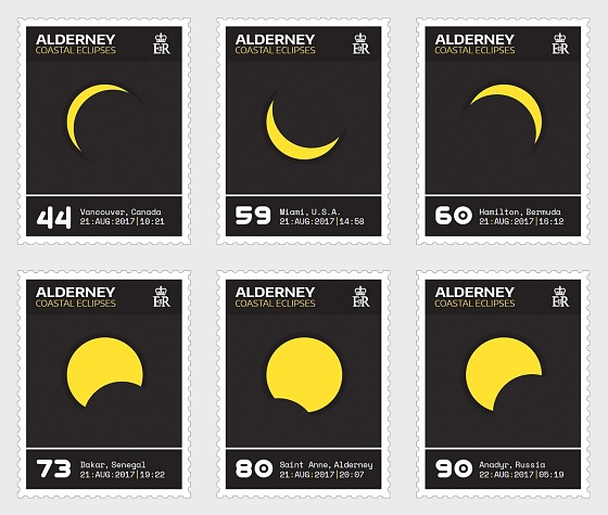 Alderney Coastal Eclipses - Set