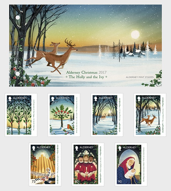 Christmas 2017 - The Holly and the Ivy - Presentation Pack