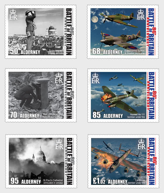 80th Anniversary of the Battle of Britain - Set