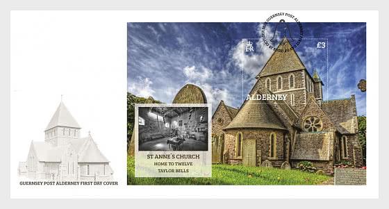 Église Sainte-Anne - Enveloppes de Premier Jour