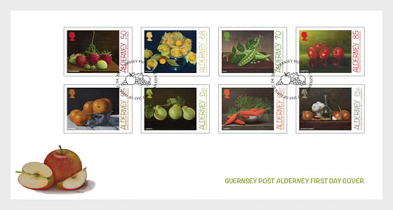 UN - International Year of Fruits and Vegetables - First Day Cover