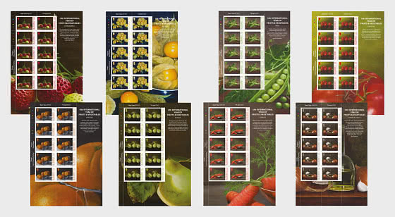 UN - International Year of Fruits and Vegetables - Sheetlets