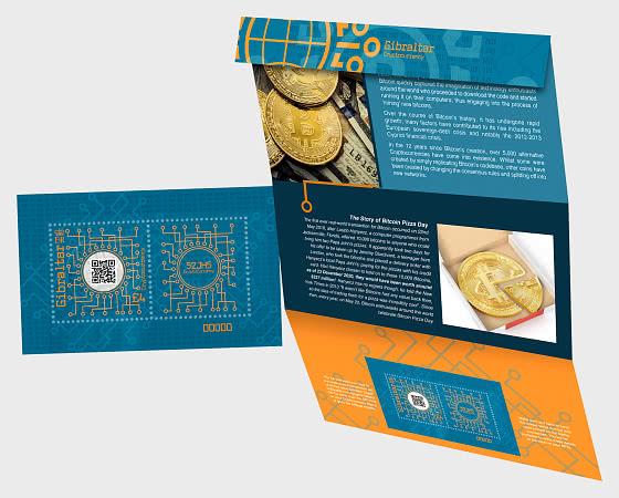 Gibraltar Cryptocurrency Stamp - Presentation Pack
