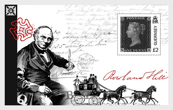 175th Anniversary of The Penny Black  - Miniature Sheet
