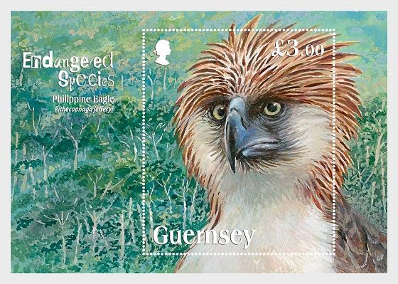 Endangered Species: Philippine Eagle  - Miniature Sheet
