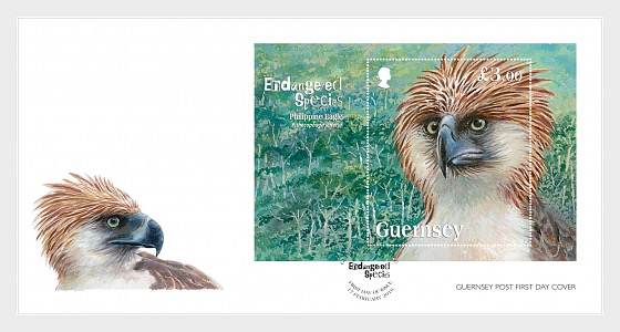 Endangered Species: Philippine Eagle  - First Day Cover