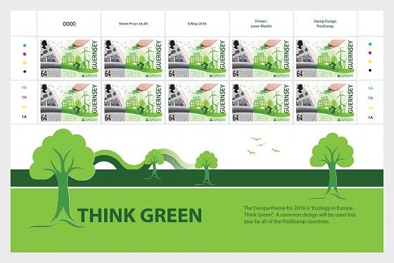 Europa 2016 - Think Green - Sheetlets