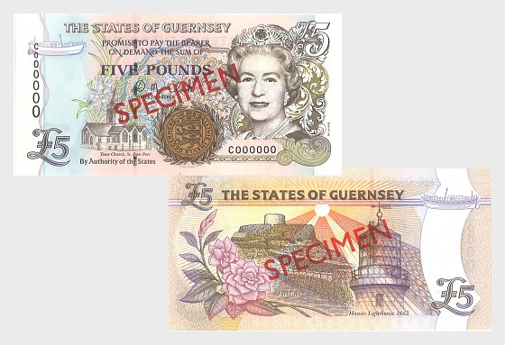 2000 £5 D.M. Clark  - Banconota