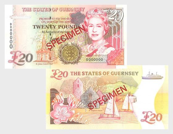 1996 £20 D.P. B.Haines signature (C) - Banknote