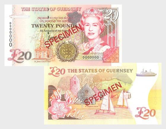 1996 £20 D.P. B.Haines (D) - Banconota