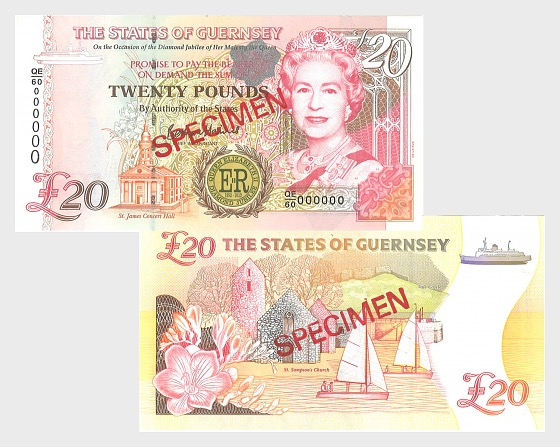 2012 £20 Queen's Jubilee: D.P. B.Haines signature - Banknote