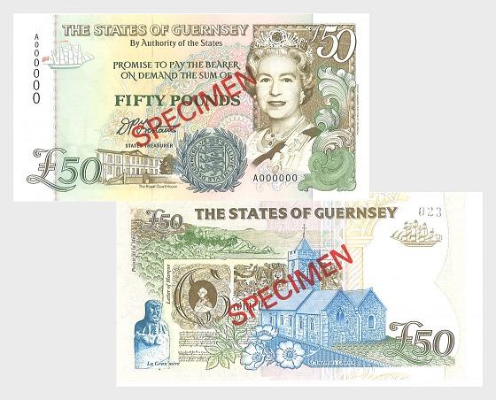 1994 £50 D.P. D.P. Trestain signature - Banknote
