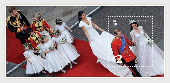 Royal Wedding M/S - Miniature Sheet