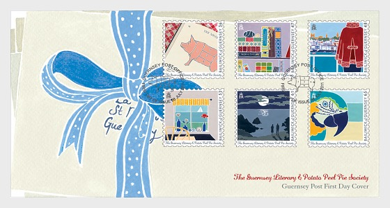 Guernsey Literary & Potato Peel Pie Society - First Day Cover