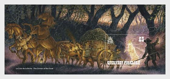 Guernsey Folklore - Miniature Sheet