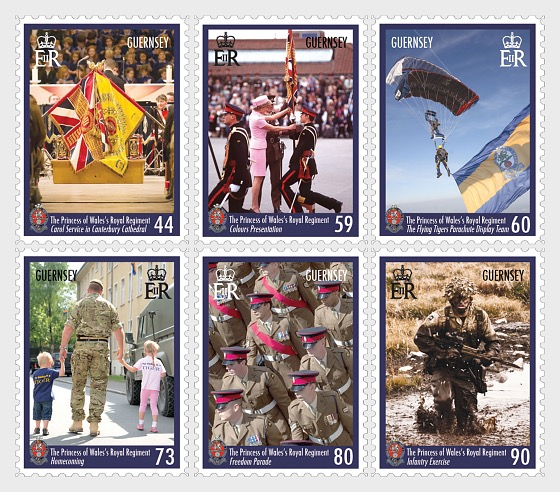 25 Years Princess of Wales's Royal Regiment - Set