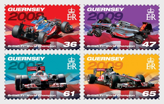 British Formula 1 World Champions (part 2) - Set