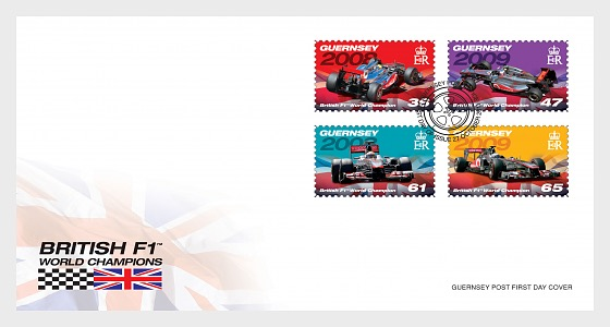 British Formula 1 World Champions (part 2) - First Day Cover