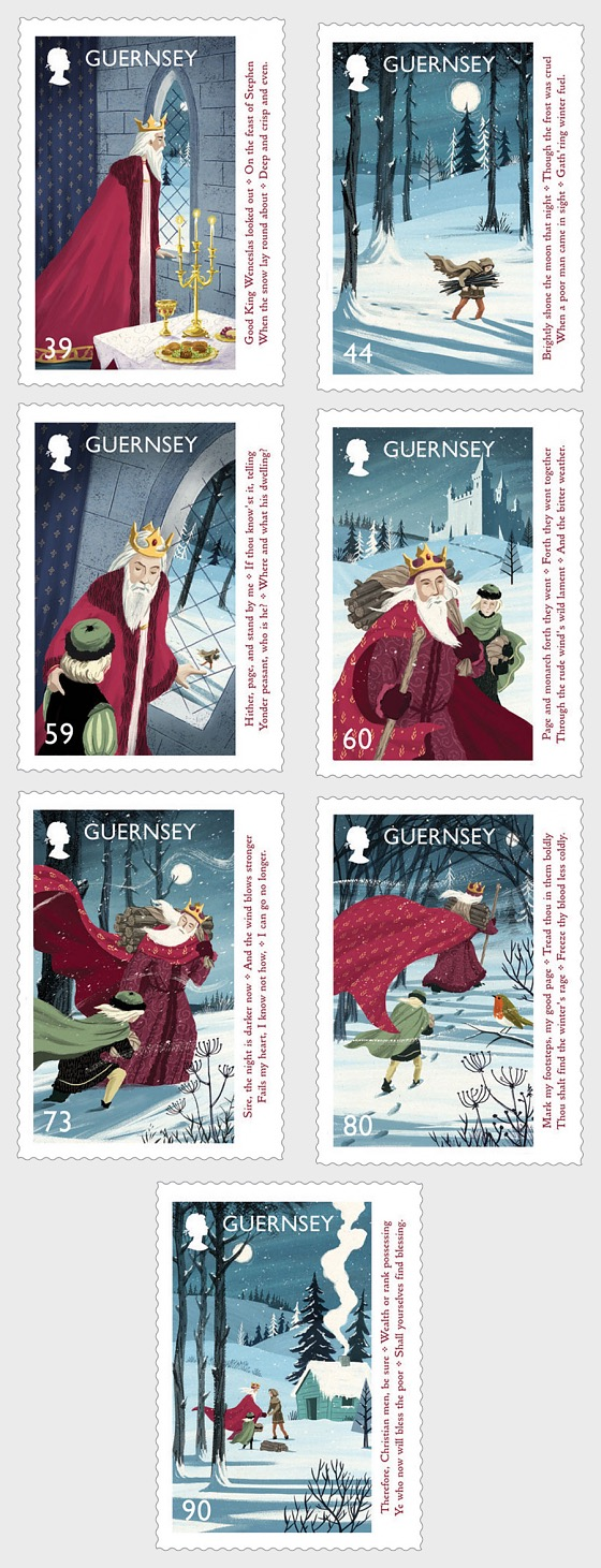 Christmas 2017 - Good King Wenceslas - Set