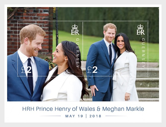 Royal Wedding - HRH Prince Henry of Wales and Meghan Markle - Miniature Sheet