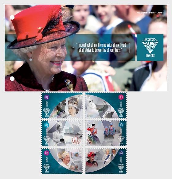 The Queen's Diamond Jubilee - Presentation Pack