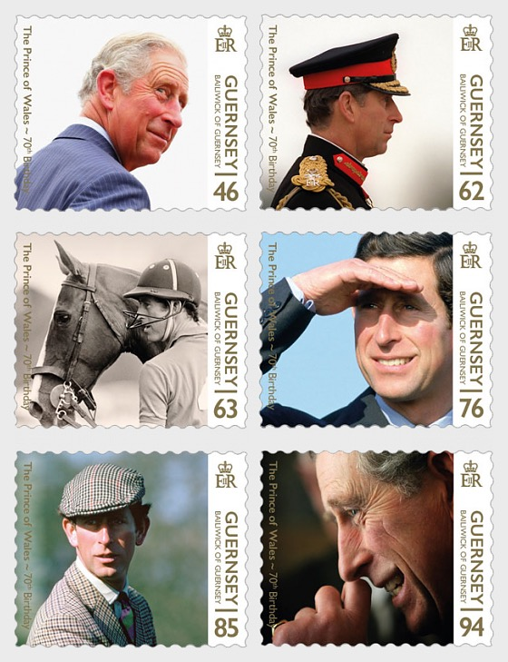 HRH The Prince of Wales 70th Birthday - Set