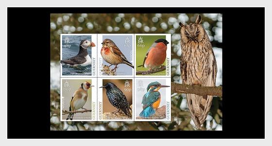 Europa 2019 - National Birds - Pack Insert M/S - Pack Miniature Sheet