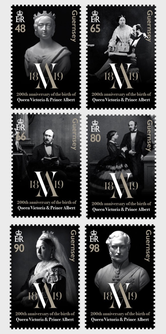 200th Anniversary - Queen Victoria & Prince Albert - Set