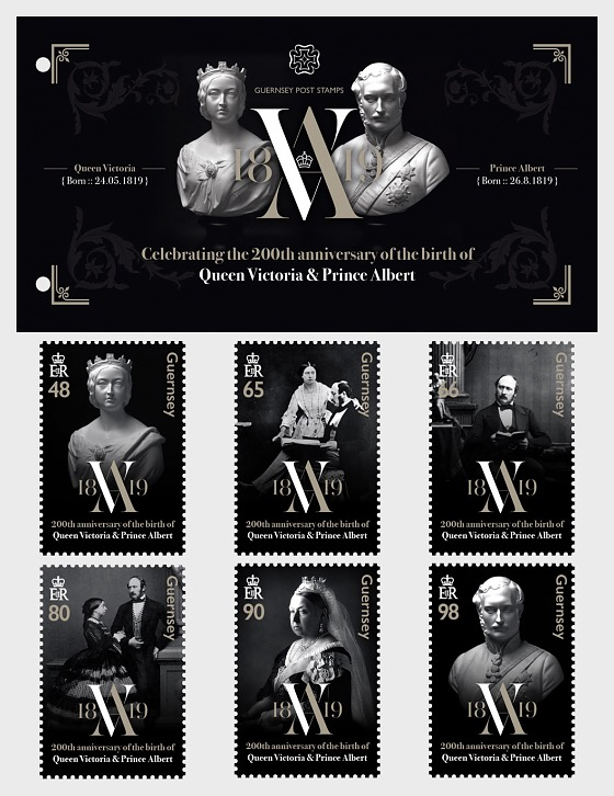 200th Anniversary - Queen Victoria & Prince Albert - Presentation Pack