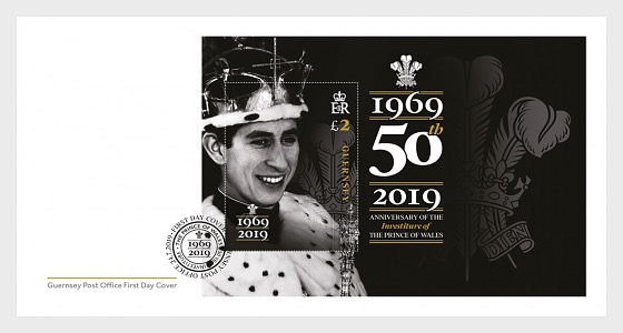 50th Anniversary of Prince Charles Investiture - First Day Cover