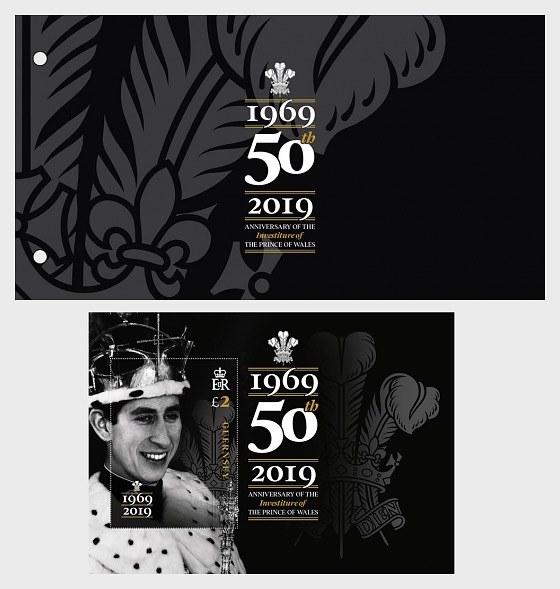 50th Anniversary of Prince Charles Investiture - Presentation Pack