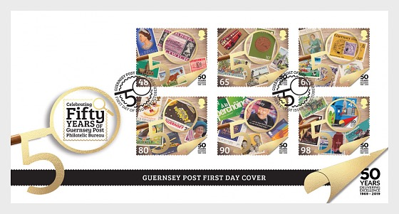 50th Anniversary of Philatelic Independence - First Day Cover