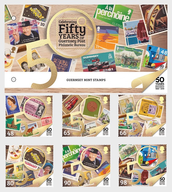 50th Anniversary of Philatelic Independence - Presentation Pack