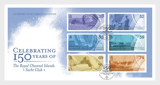 150 Years of The Royal Channel Islands Yacht Club - First Day Cover