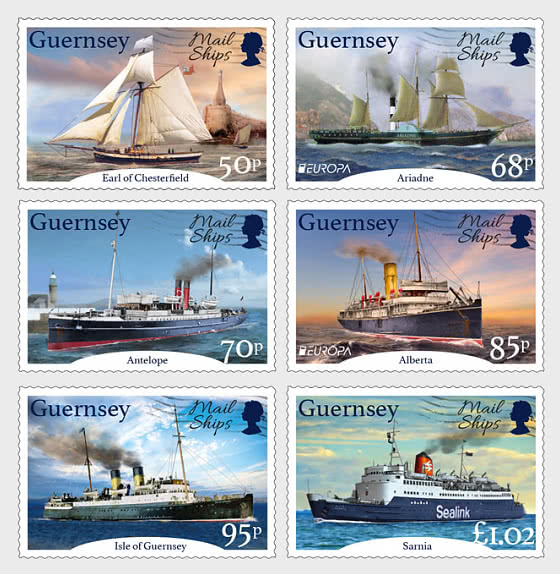 Europa 2020 - Ancient Postal Routes, Mail Ships - Set