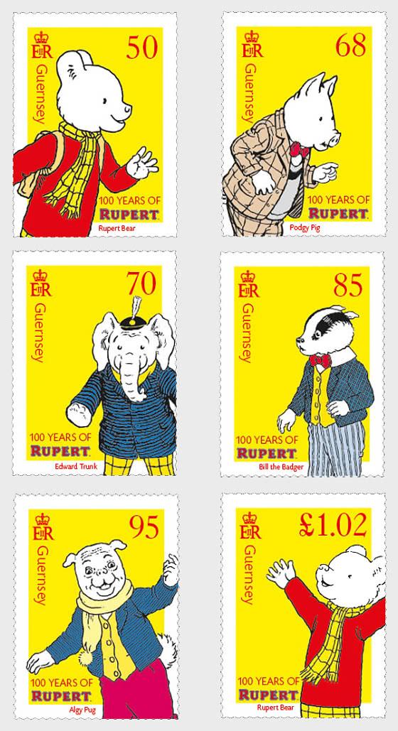 100th Anniversary of Rupert Bear - Set