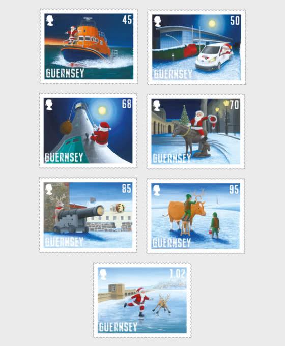 Guernsey -  Santa's Visit 2020 - Set