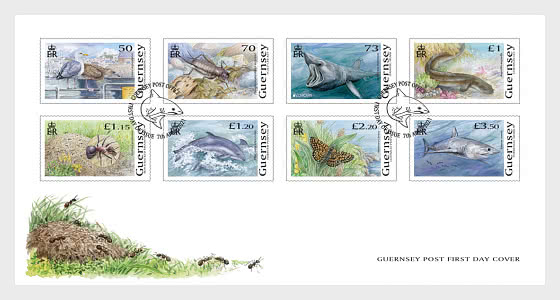 Europa 2021 - Endangered National Wildlife - FDC Set - First Day Cover
