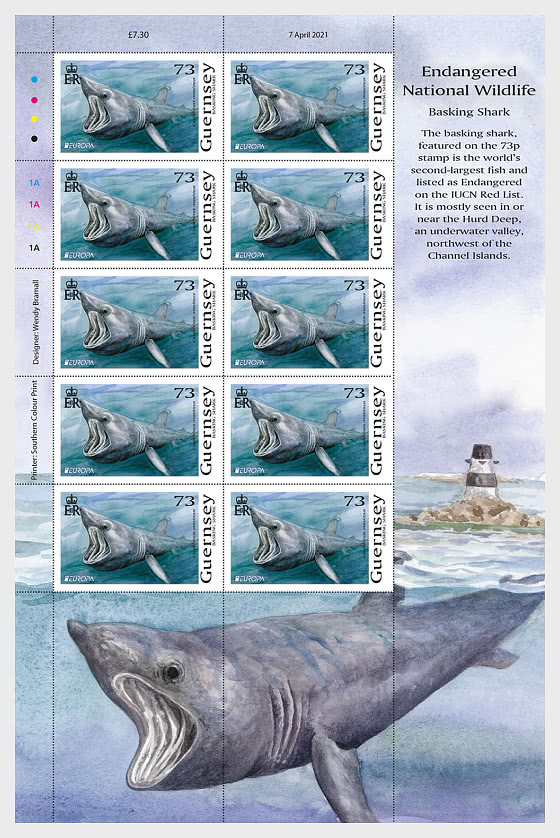 Europa 2021 - Endangered National Wildlife - Europa 73p Sheet - Collectibles