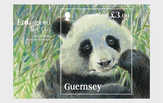 Endangered Species Giant Panda - Miniature Sheet