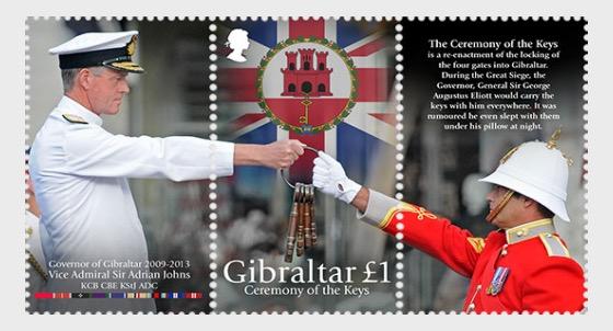 Ceremony of the Keys / Governor of Gibraltar - Mint - Set
