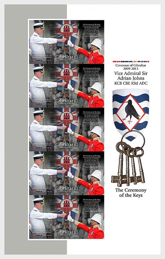Ceremony of the Keys / Governor of Gibraltar - Sheetlets