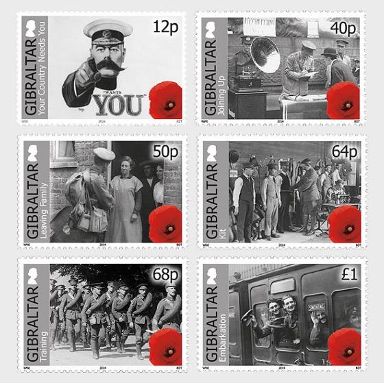 Centenary of World War I - Mint - Set