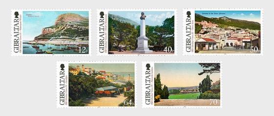 Old Gibraltar Views IV - Set Mint - Set