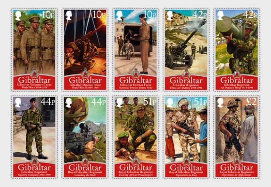 Royal Gibraltar Regiment - Set